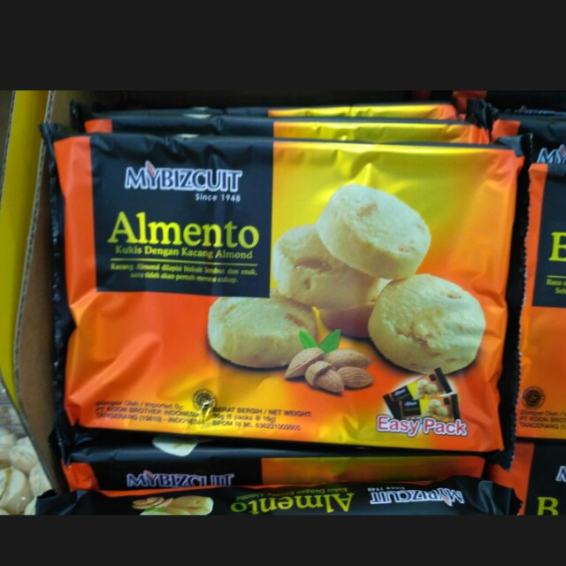 Mybizcuit Cookies Almond
