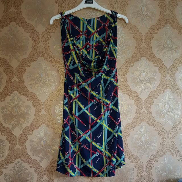 NEW Dress chain blue stretch