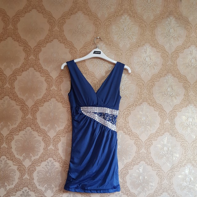 NEW Victoria Mini Dress Blink2
