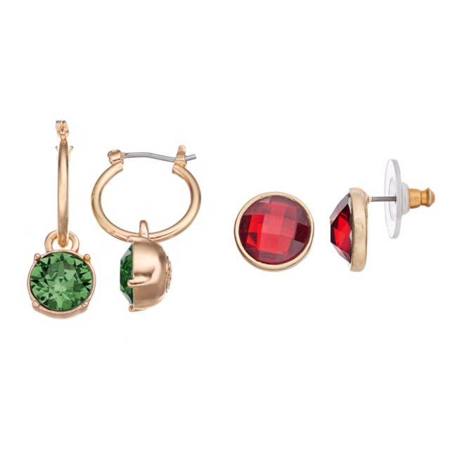 NWT Women's Dana Buchman Earring Sets