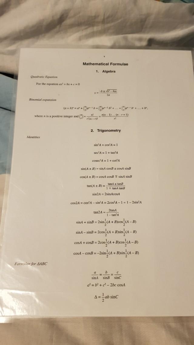 O level amath formulae sheet periodic table books stationery photo photo photo photo urtaz Images