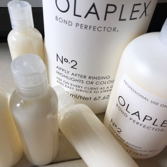 Olaplex Patented No.2 Bond Perfector Treatment for Bleached, Colored, Damaged, Compromised hair