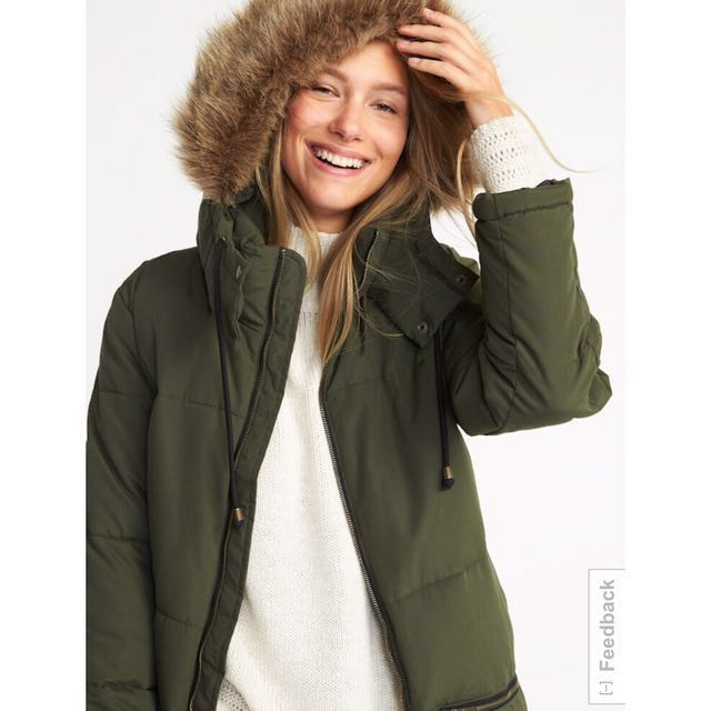 6ef17574d Old Navy Winter Hooded Parka Jacket Coat, Women's Fashion, Clothes ...