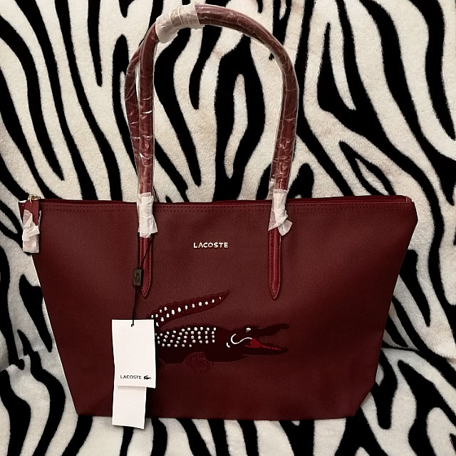 On Sale! Lacoste tote bag