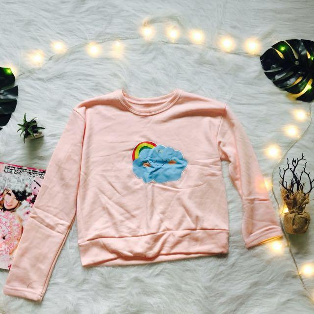 Peach Crop Sweatshirt