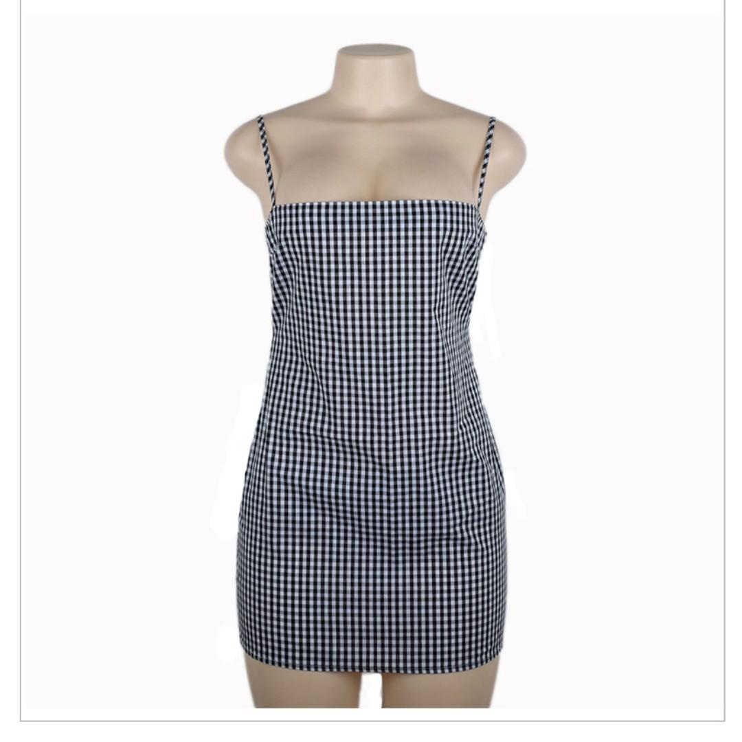 *BRAND NEW* Plaid Mini Dress