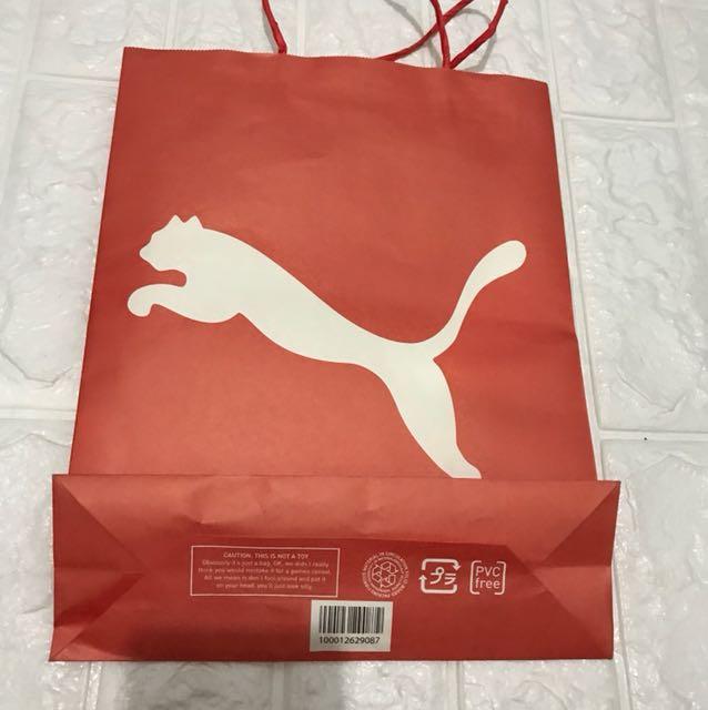 Puma Paperbag