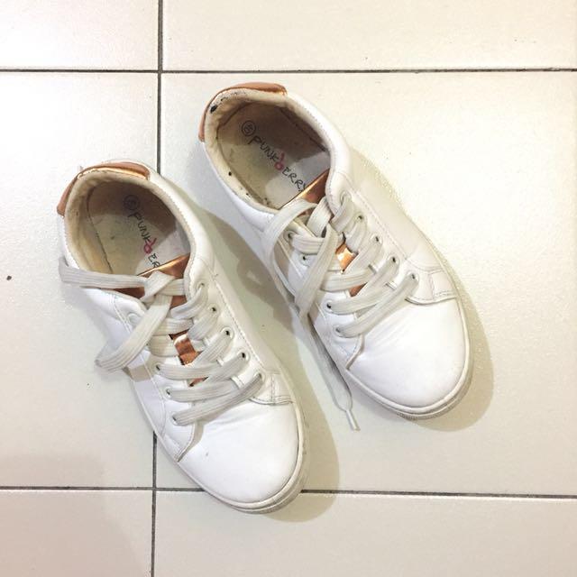 Punkberry White Sneakers