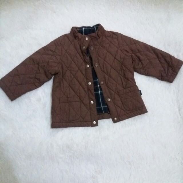 Quilted baby jacket