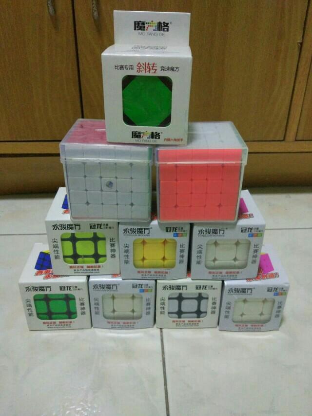 Rubiks Cubes / Speedcubes