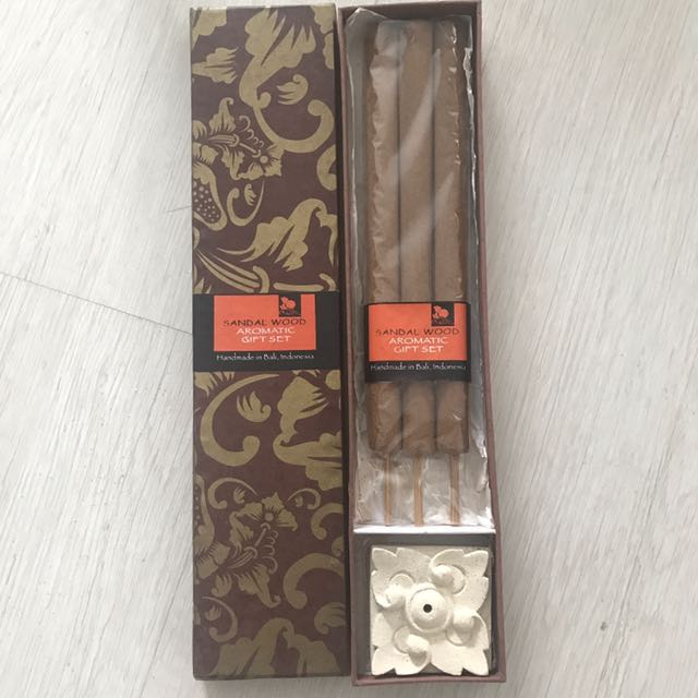 Sandalwood incense gift from Bali
