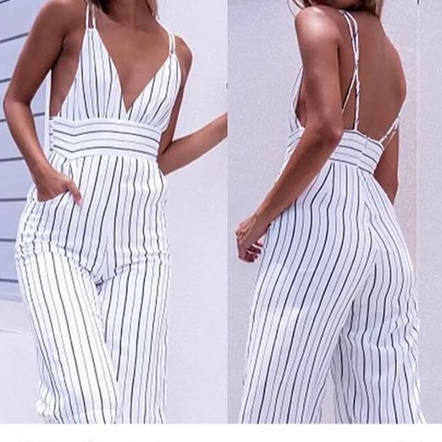 Sexy side boob jumpsuit