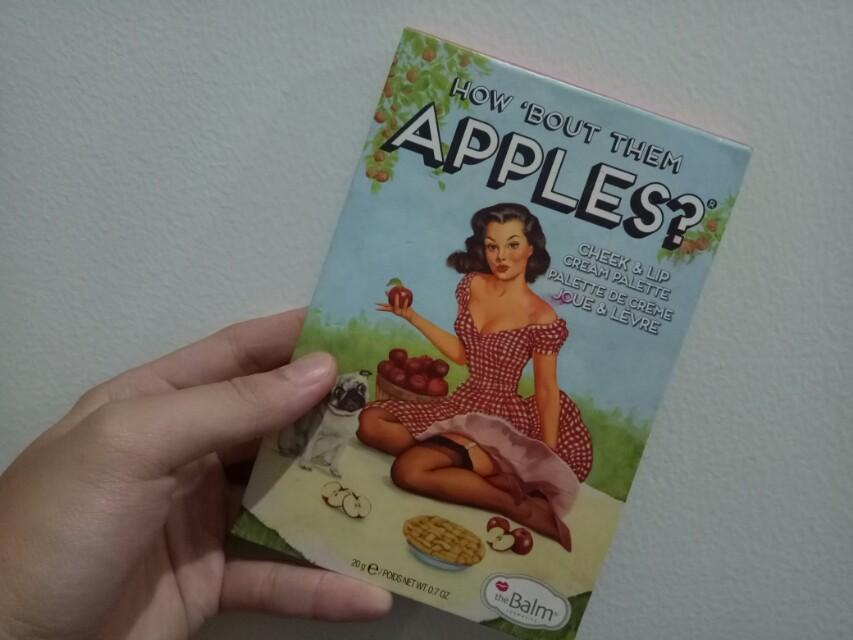 Siapa cepet dia dapet ya! lipkit apple the balm