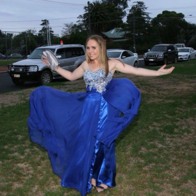 Size 6-8 Ball dress