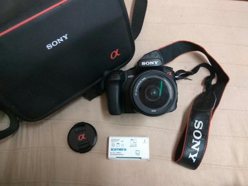 Sony a350  單眼相機🌼#舊愛換新歡