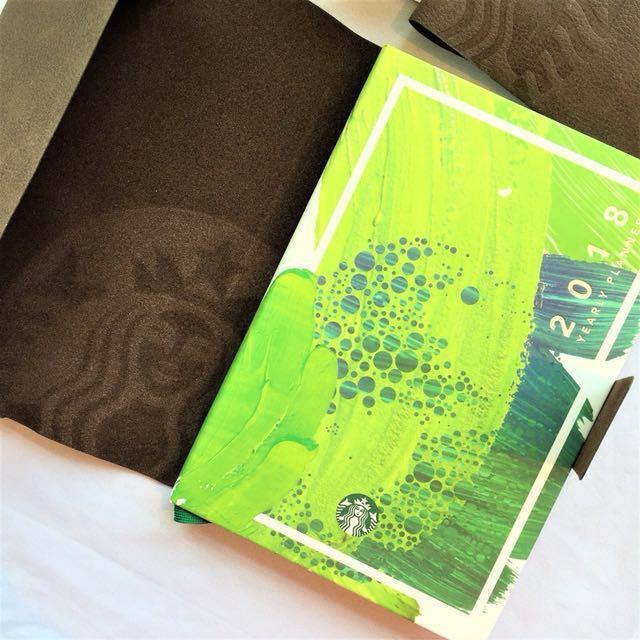 Starbucks 2018 Planner (green large)