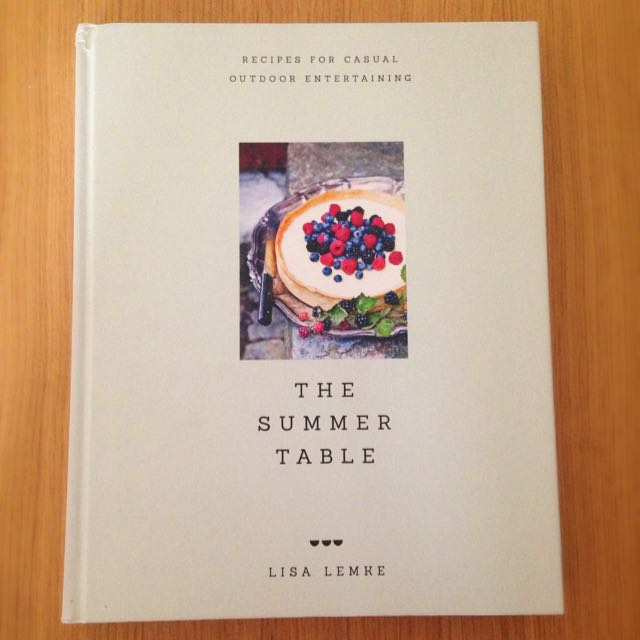 Summer Table Cookbook