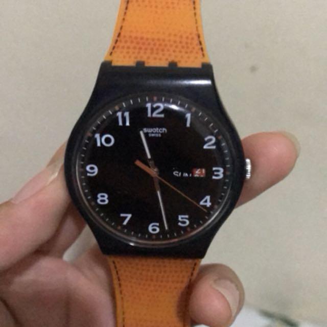 Swatch jam tangan faux fox