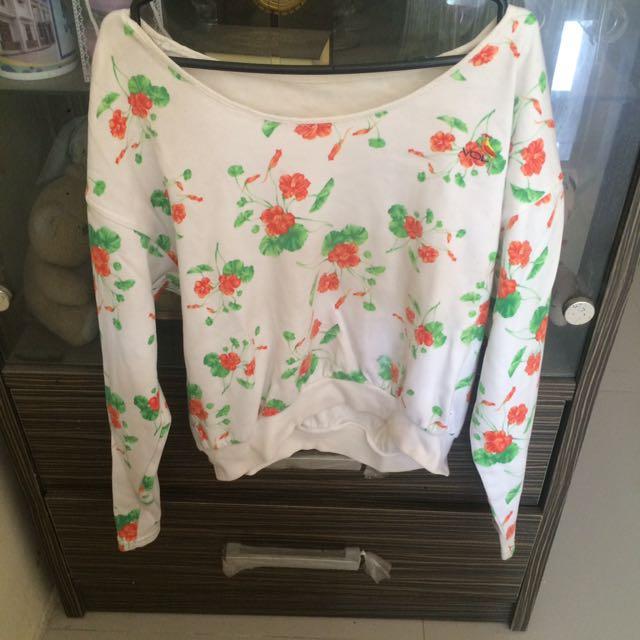 sweater pattern flower