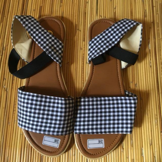 Tartan Sandals Tali