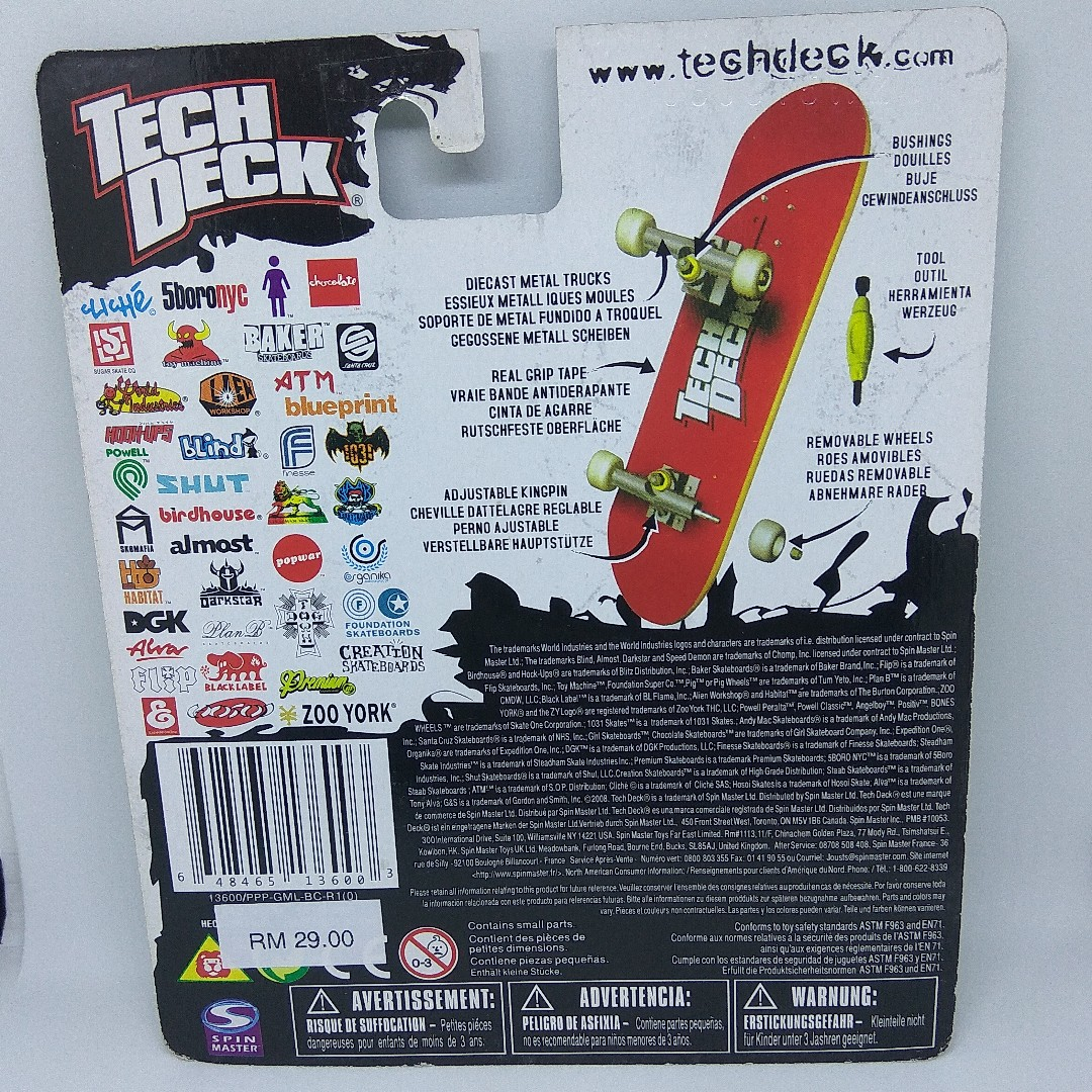 Tech Deck Chocolate Finger Board Mainan Game Di Carousell Anak Skateboard Kongsi Senarai Ini