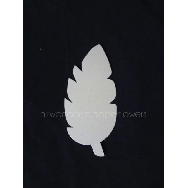 Template Leaf/Cetakan Daun/Pola Daun/Paper Flower Backdrop
