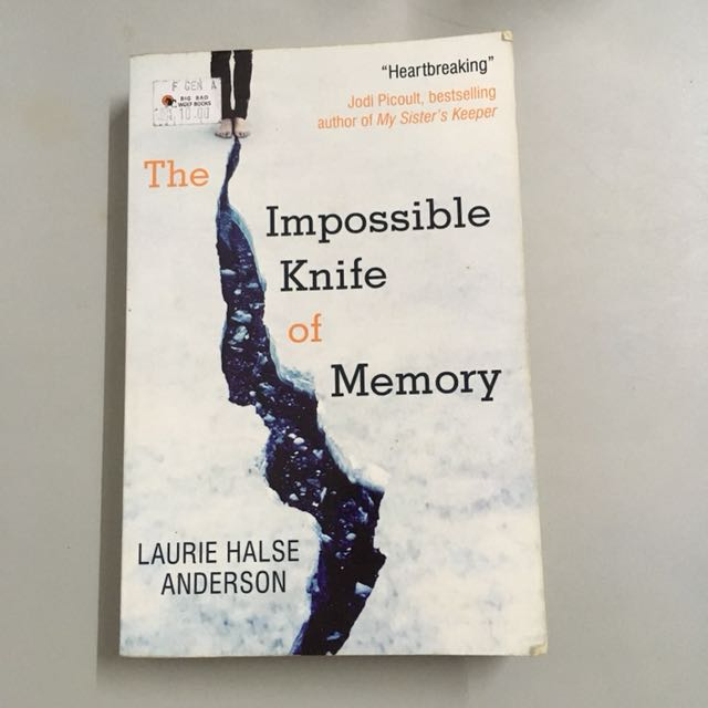 The Impossible Knife of Memory by Laurie Hale's Anderson
