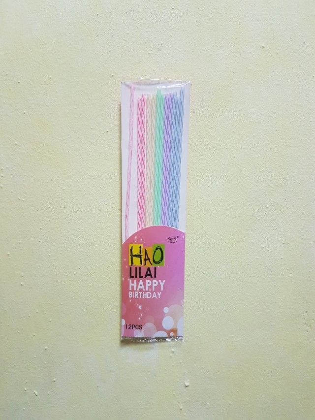 Thin Long Birthday Candles Home Appliances On Carousell