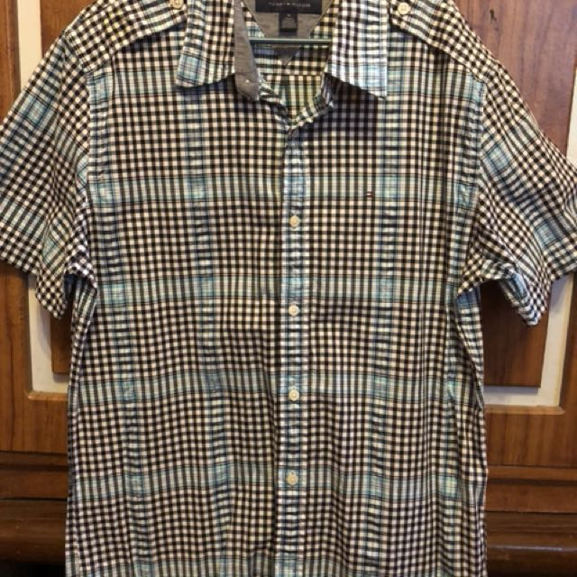 Tommy Hilfiger Plaid Polo Shirt - slim fit