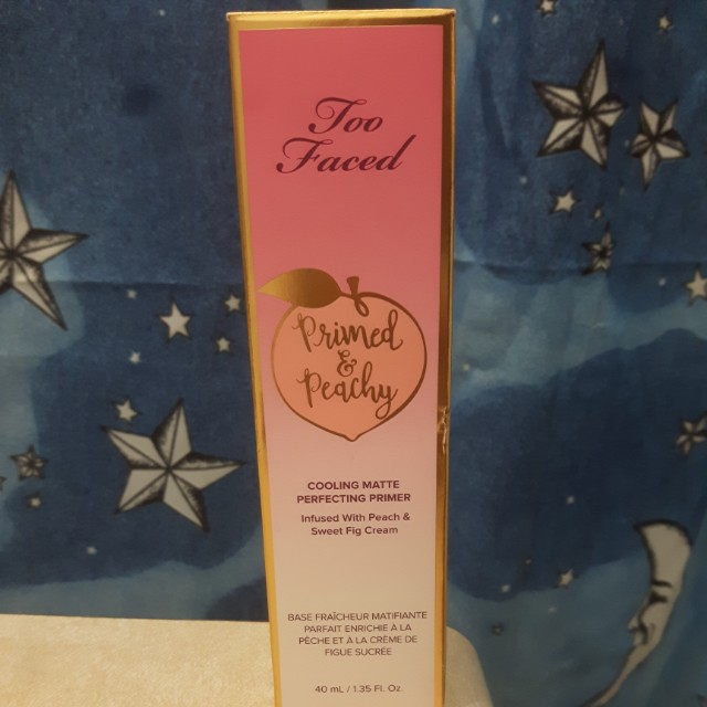 TooFaced Peachy Matte Perfecting Primer