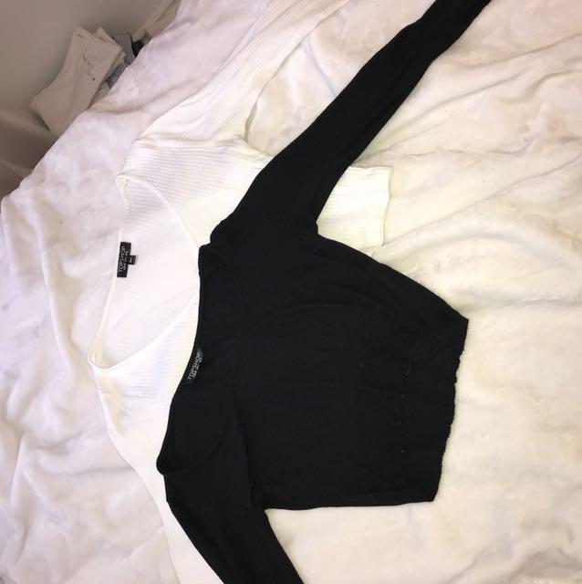 Topshop Long sleeve Shirts