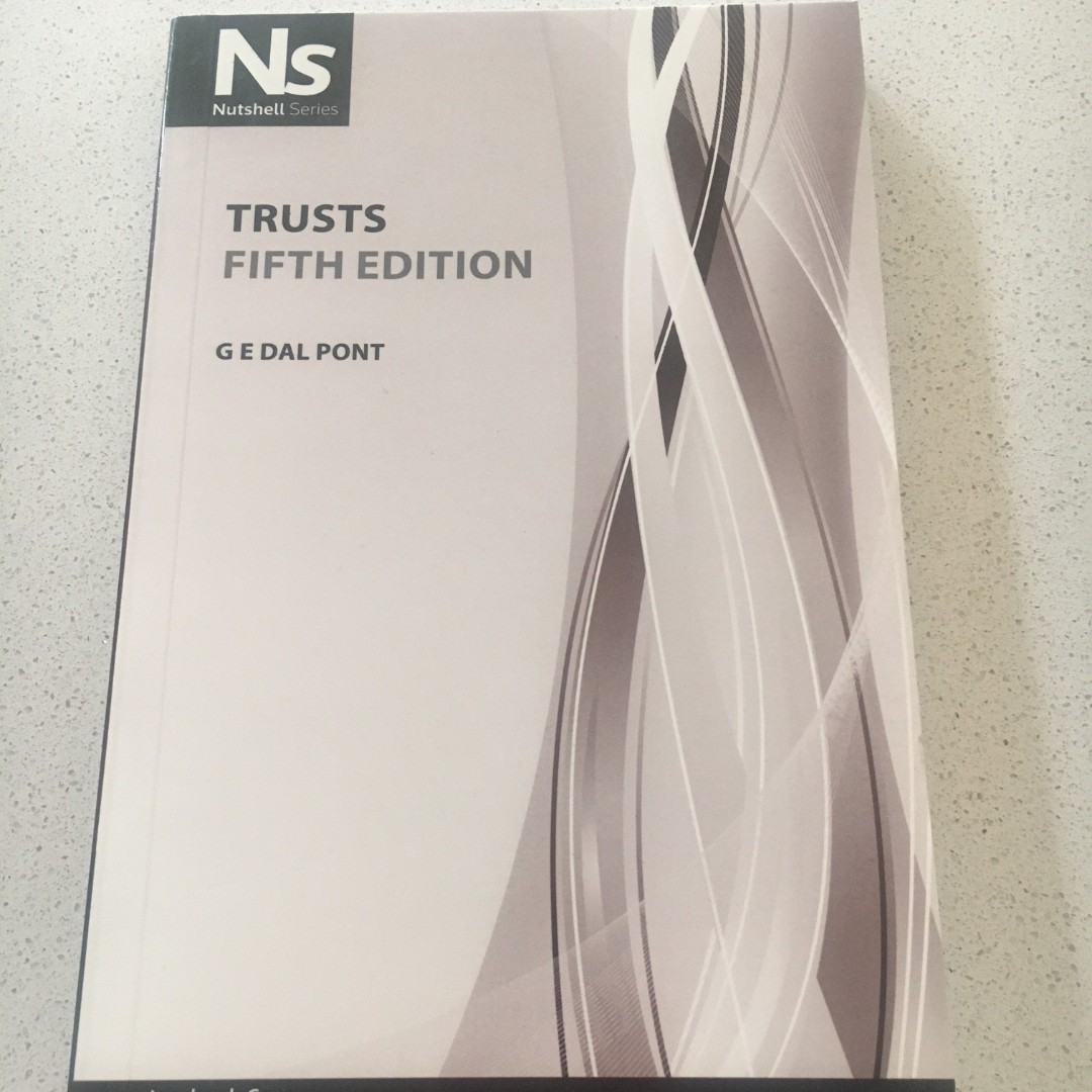 Nutshell: Trusts by G E Dal Pont (Paperback, 2010) 5th Ed