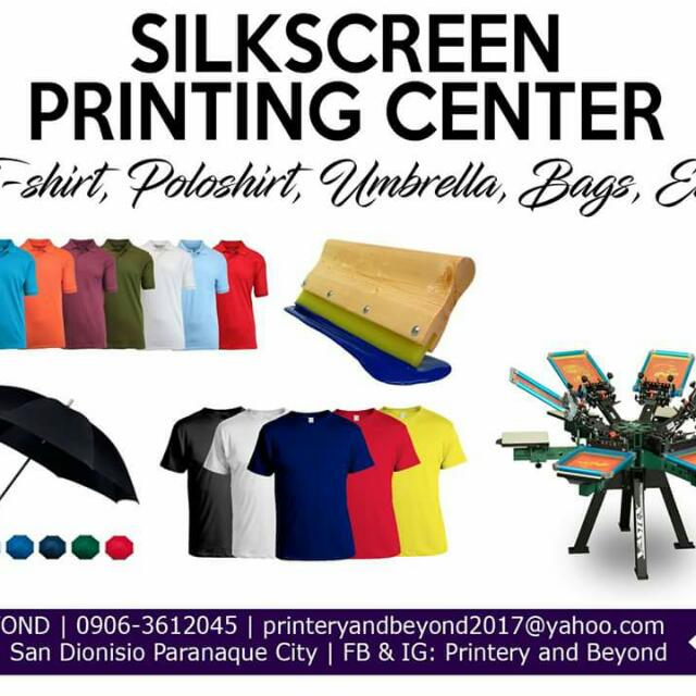 T-shirt Printing Center Services