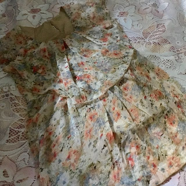 Unbranded Floral Sleeveless Top