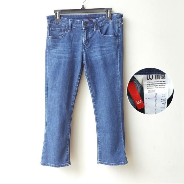 Uniqlo Navy Jeans 7/8