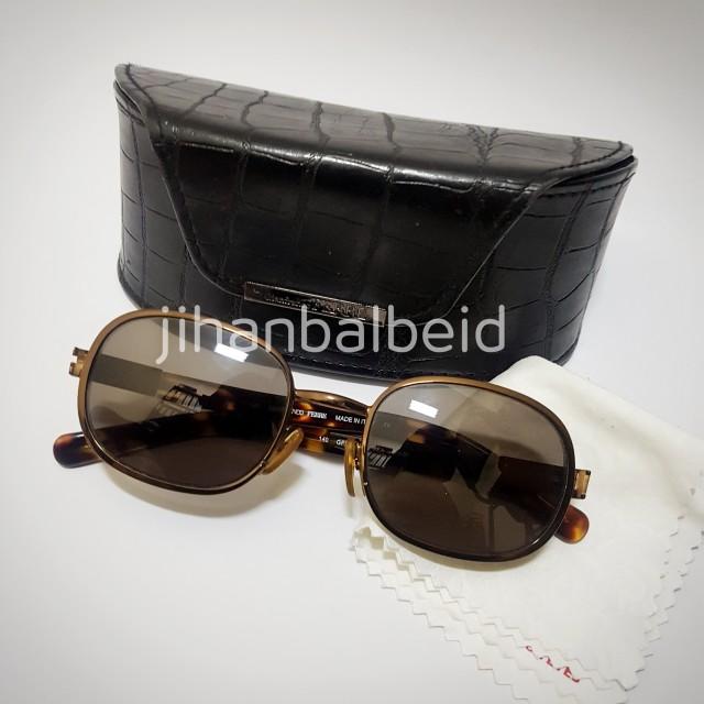 Vintage Sunglasses  GIANFRANCO FERRE GFG 452/S (Kacamata Hitam)
