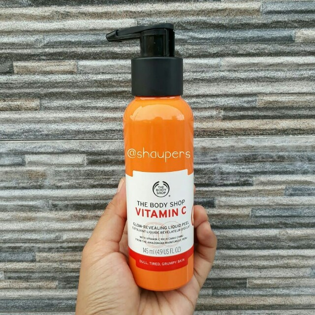 Vitamin C Glow Revealing Liquid Peel 145ml The Body Shop