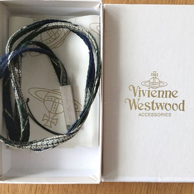 Vivienne Westwood 金屬棉繩長吊飾