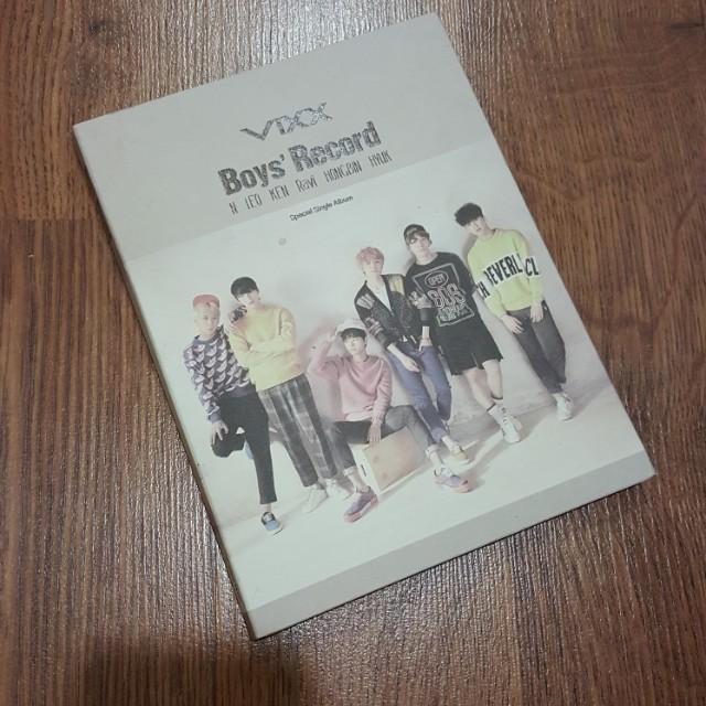 VIXX Boys' Record Special Album (pending!!)