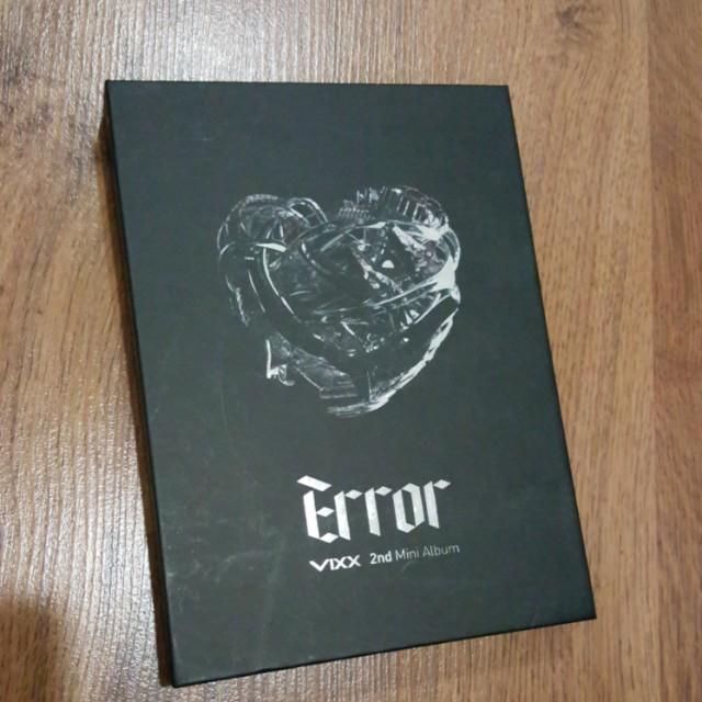 VIXX Error 2nd Mini Album (pending!!)