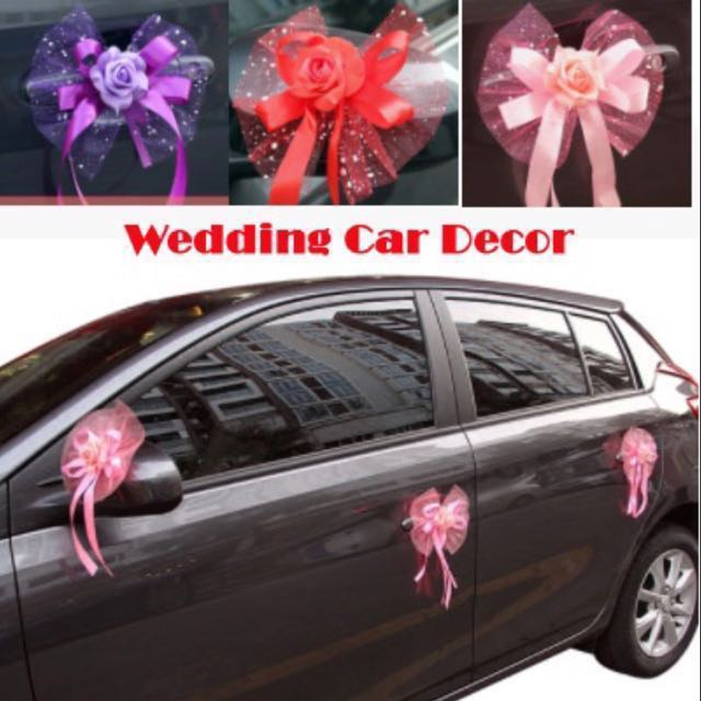 Wedding Car Decobridal Car Decor Wedding Decoration Womens