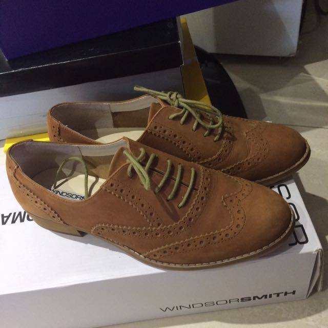 Windsor smith bright tan nubuck