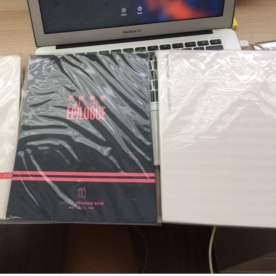 WINGS AND EPILOGUE PROGRAM BOOKS