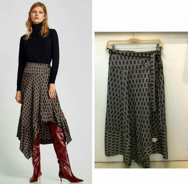 Zara inspired Geometric skirt