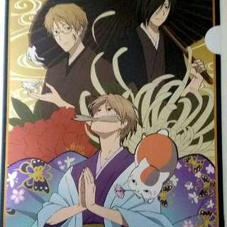 Natsume's book of friends Natsume yuujinchou A4 file