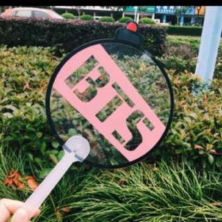 (CLEARANCE) BTS ARMY BOMB Transparent Fan