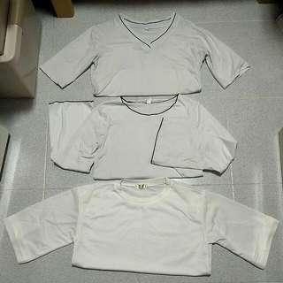 White Schoolgirl / Japanese / Korean Street Casual Tops