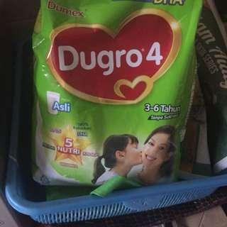 Dugro 4  3-6 years (Original Flavour) 2 pack