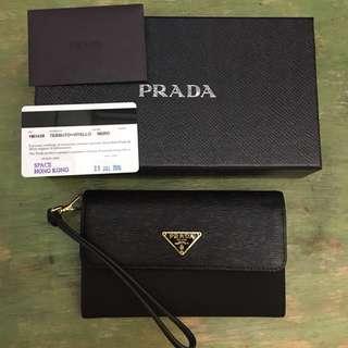 全新正品 PRADA 銀包連盒及咭 (100% authentic)