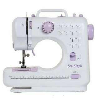 12 stitch Sewing Machine (White)